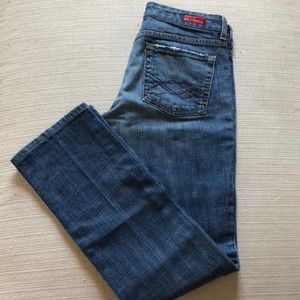 Citizens of Humanity straight leg low waist jeans